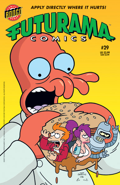 Futurama Comics
